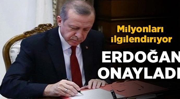 Başkan Erdoğan imzaladı çalışan, işsiz herkese müjdeli haber!