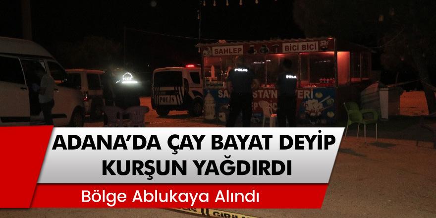 Adana'da Çay Bayat Deyip Öğretmene Kurşun Yağdırdı! 'Bölge Ablukaya Alındı'