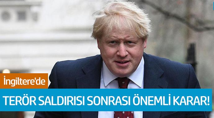 İngiltere'de Terör Saldırısı Sonrası Önemli Karar