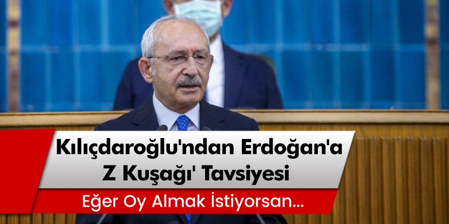 CHP Lideri Kemal Kılıçdaroğlu'ndan Erdoğan'a 'Z Kuşağı' Tavsiyesi