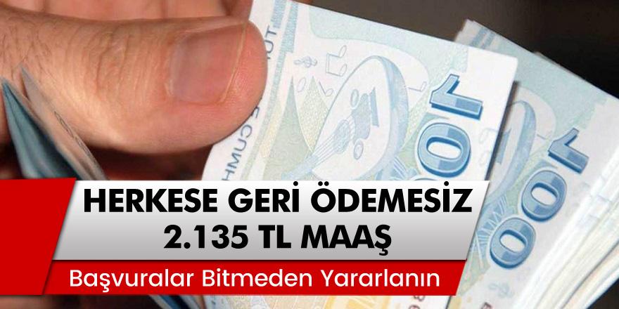 Emekli Olmayanlar Müjde! Başvuran Herkese Geri Ödemesiz 2 Bin 135 TL! Başvurular Bitmeden Hemen Yararlanın!