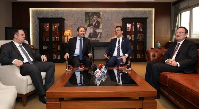 Ekrem İmamoğlu'ndan Maltepe Belediyesi'ne ziyaret
