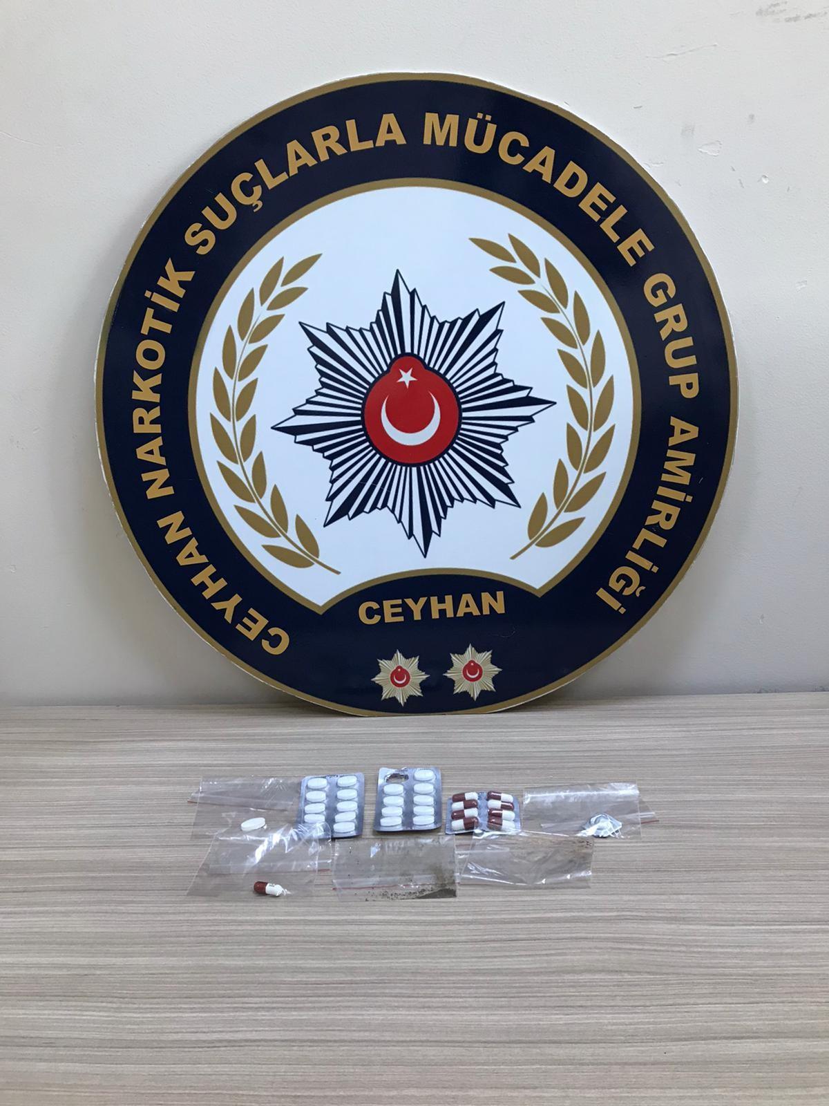 Adana Ceyhan'da Cezaevine uyuşturucu sokan gardiyanlara operasyon