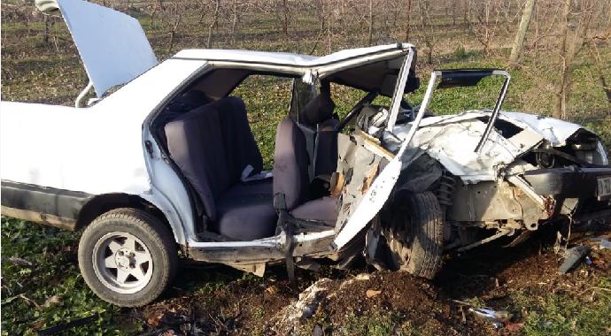 Bursa Yenişehir 'de tarafik kazası sonucu 6 yaralı