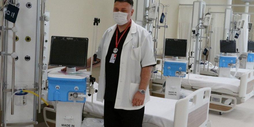Kartal Dr. Lütfi Kırdar Şehir Hastanesi'nde (Özel) Yerli solunum cihazları kullanılmaya başlanacak!