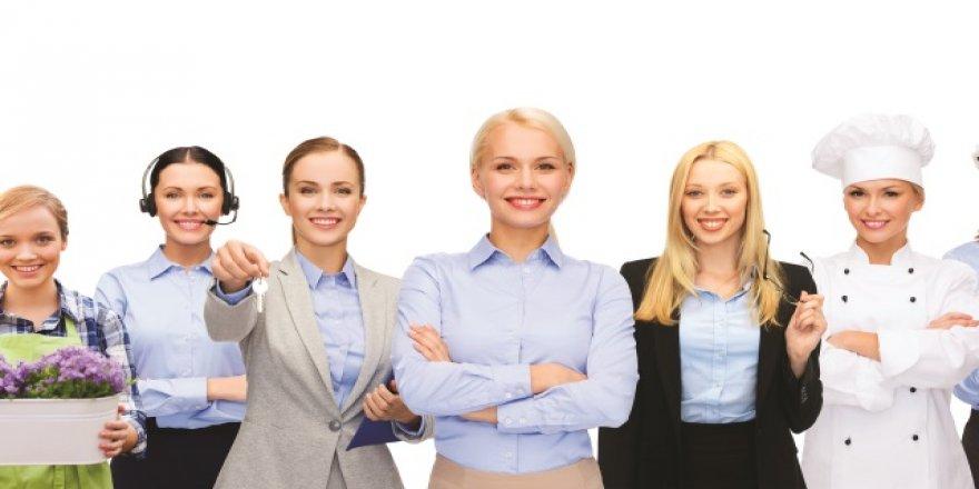 """''Pandemi sürecinde daralmaya rağmen kadın girişimcimizin artması bizi mutlu ediyor."""""""