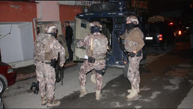 İran uyruklu şüphelilere narkotik baskını: 4 gözaltı, 3 tutuklama