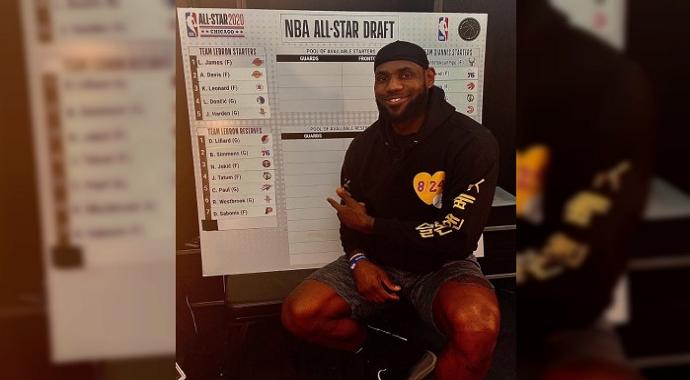 NBA All-Star'da kadrolar kesinleşti