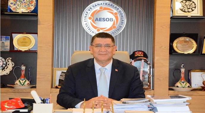 """AESOB Başkanı Dere: """"Küçük işletmeler turizm vergisinden muaf olmalı"""""""