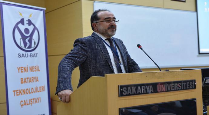 SAÜ'de 'Yeni Nesil Batarya Teknolojileri' çalıştayı gerçekleşti