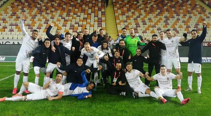 MKE Ankaragücü 14 hafta sonra 3 puan ile tanıştı
