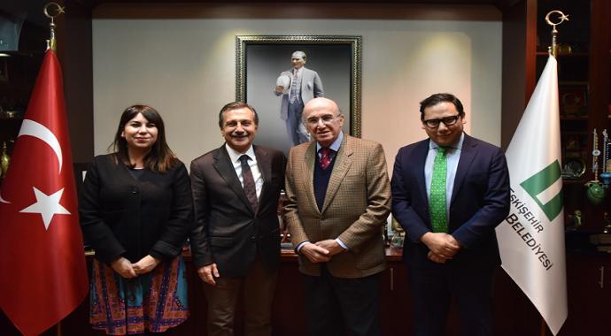 Meksika Büyükelçisi Hernandez, Tepebaşı'na hayran kaldı