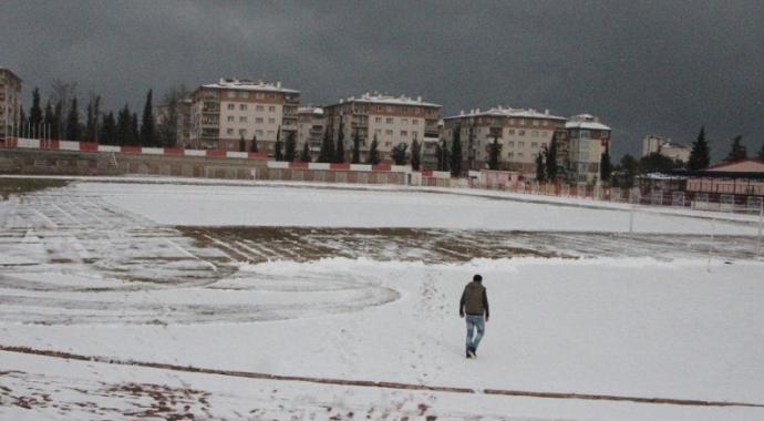 Bilecikspor maçı kar yağışı sebebi ile ertelendi