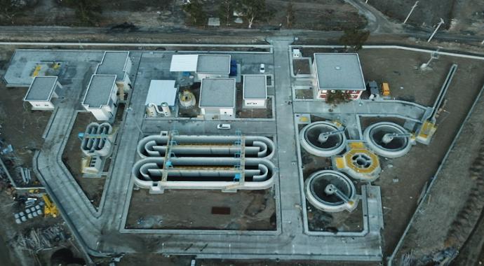 Foça'ya üçüncü ileri biyolojik arıtma tesisi