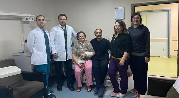 Bilecik'te vaskülarize lenf nodu nakli ameliyatı ilk kez yapıldı
