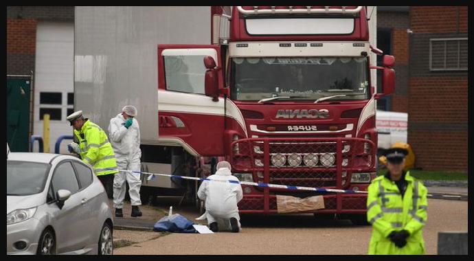 İngiltere'de Ölüm Tırından Son Mesaj: 'Ölüyorum'