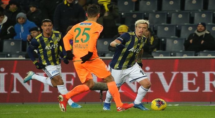 Fenerbahçe: 1 - Aytemiz Alanyaspor: 1 (Maç sonucu)