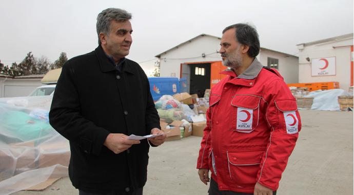 Deprem bölgesine 'Yavru Vatan'dan duygulandıran mektup
