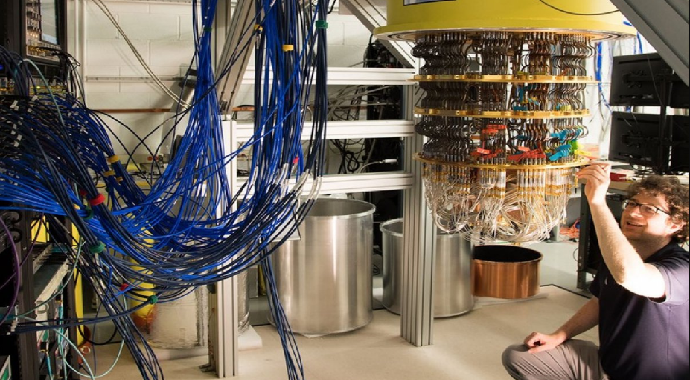 Google: Kuantum Bilgisayarı Ürettik