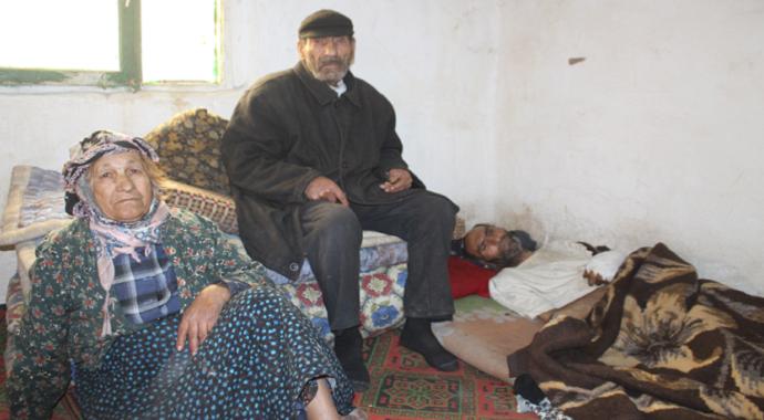 Yaşlı çiftin yardım çığlığında bulunduğu oğullarına devlet sahip çıktı