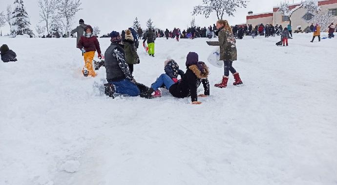 Çocukların kar keyfi hastalıkla son bulmasın