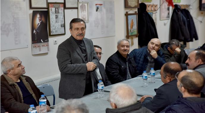 Başkan Ataç Alanyurtlular ile buluştu