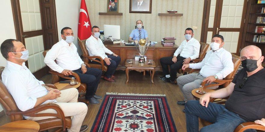Bandırmaspor'dan protokole ziyaret gerçekleşti