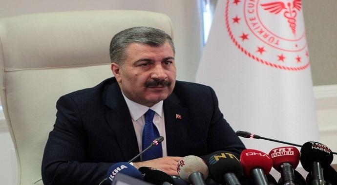 """Sağlık Bakanı Koca'dan """"korona virüsü tanı kiti"""" açıklaması"""