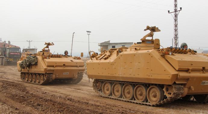 Son Dakika! Suriye Sınırına Zırhlı Araç Sevkiyatı