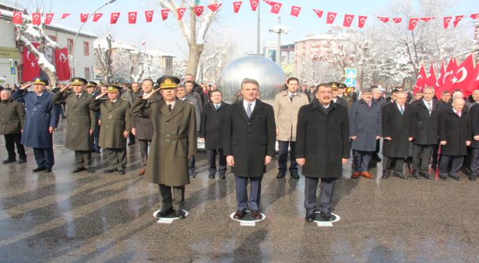 Atatürk'ün Malatya'ya gelişinin 89. yıl dönümü kutlandı