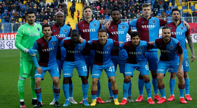 Karadeniz ekibi Trabzonspor'da hedef liderlik