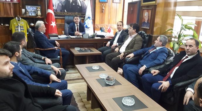 Fatih Erbakan, Genel Maden İşleri Sendikasını ziyaret etti