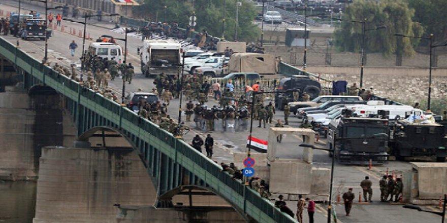 Bağdat'ta Yeşil Bölge'deki ABD önderliğindeki koalisyon güçlerine saldırı