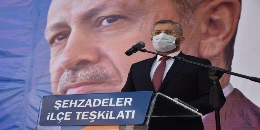 Mehmet Emin Çipiloğlu, AK Parti Şehzadeler'de güven tazeledi!