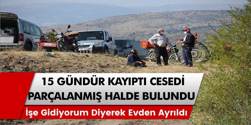 Sivas'ta kaybolan şahıs 15 gündür her yerde aranıyordu, cesedi parçalanmış halde bulundu