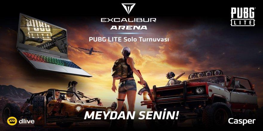 Profesyonel oyun severleri bir araya getirmek amacıyla, Excalibur Arena PUBG Lite Turnuvası başlıyor