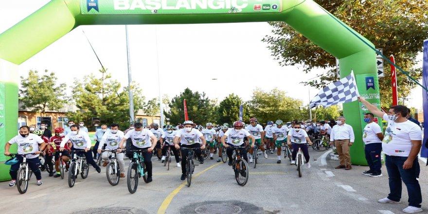 Bursa'da, bisiklet Turu, renkli görüntülere sahne oldu!