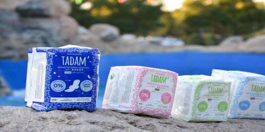 Organik kadın pedi 'Tadam' ismiyle  Türkiye'de satışta!