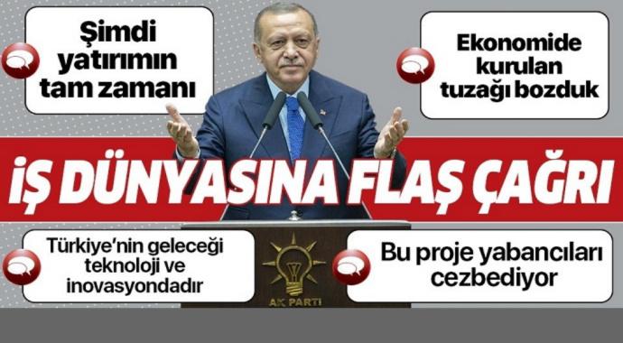 Başkan Erdoğan'dan Teknopark İstanbul açılışında önemli açıklamalar.