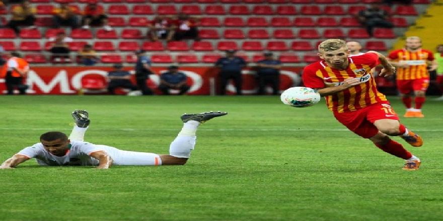 Alanyaspor Kayserispor karşısında 5 maçtır yenilmiyor
