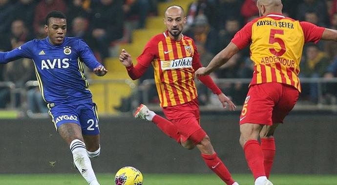 Fenerbahçe Kayseri'de Fena Dağıldı