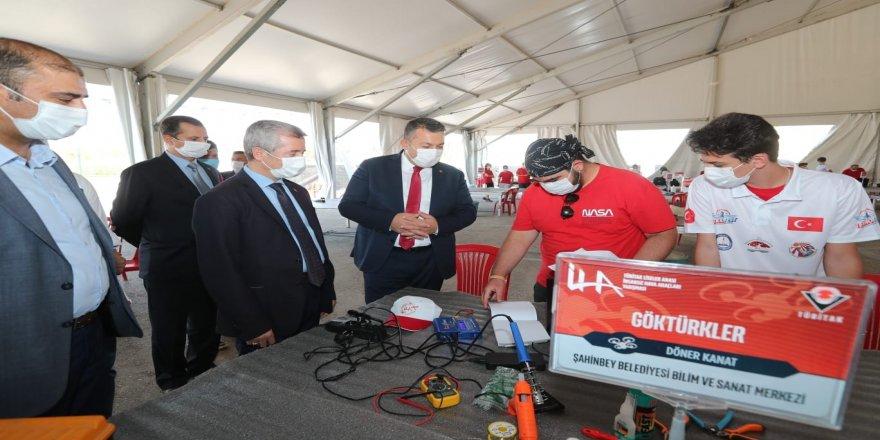 Şahinbey Belediyesi, Bilsem Göktürkler İHA Topluluğu takım'ını destekliyor!