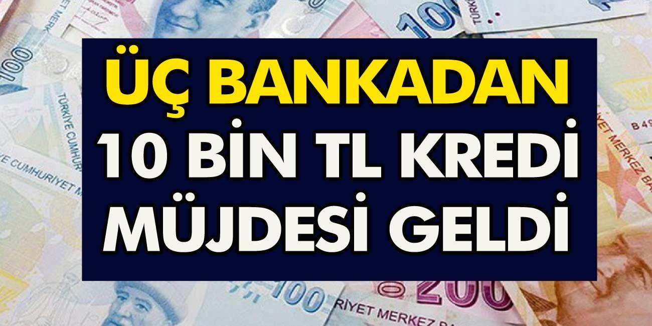 0.49 faiz oranı ile kredi kampanyası başladı! Ziraat bankası, Halkbank ve Vakıfbank'tan 6 ay ertelemeli kredi…