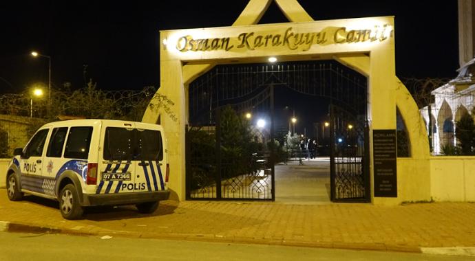 Antalya'da belediye çalışanı, cami tuvaletinde ölü bulundu