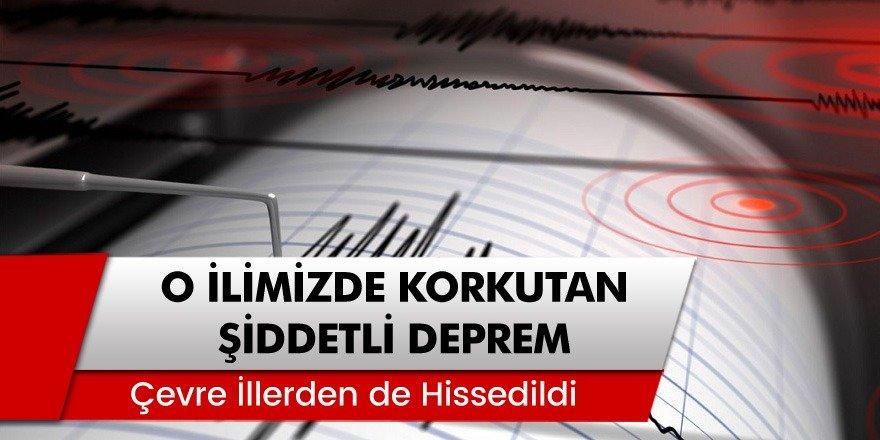 O ilimizde korkutan deprem paniğe neden oldu! İstanbul'da deprem mi oldu?