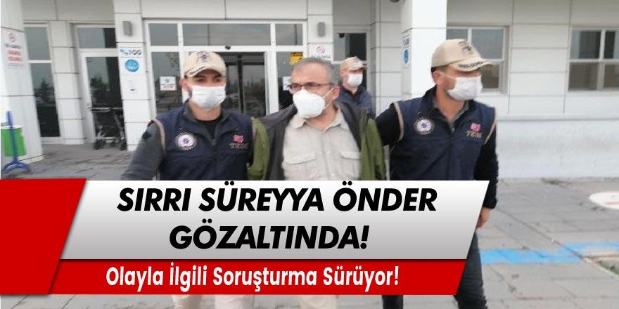 HDP'li eski vekil Sırrı Süreyya Önder gözaltında!