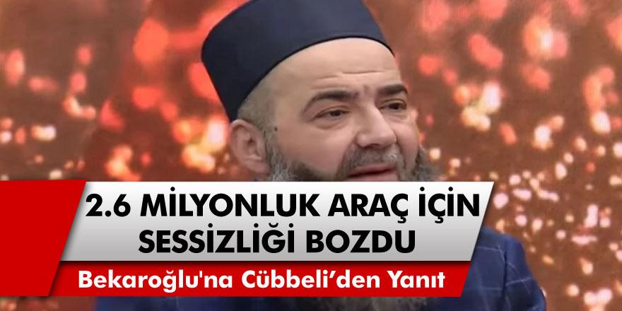 İsmailağa Cemaati'nde gerginlik... Cübbeli Ahmet Hoca, 2 milyonluk aracına gelen sözlere yanıt verdi!