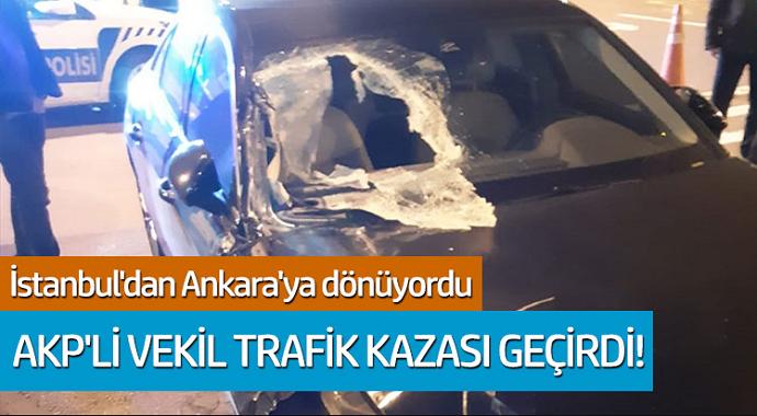 AKP'li vekil Rümeysa Kadak trafik kazası geçirdi! İşte sağlık durumu