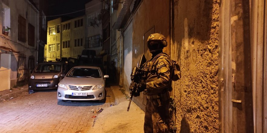 İstanbul'da Belirlenen adreslere PKK operasyonu