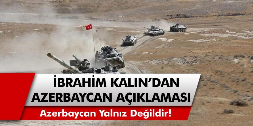 Ermenistan'ın yaptığı saldırı sonrası Türkiye'den son dakika açıklaması: Azerbaycan yalnız değildir!